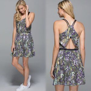 Lululemon City Summer Dress Floral Sport White - 6